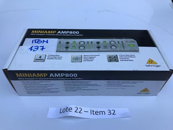 Mixer Mini Amp 800 Behringer