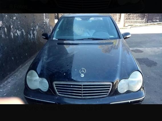 Capô Dianteiro Mercedes Benz C240 2002 Original Liso