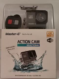 Webcam Cámara Go Pro 4k Full Hd Masterg Pulsera Y Accesorios