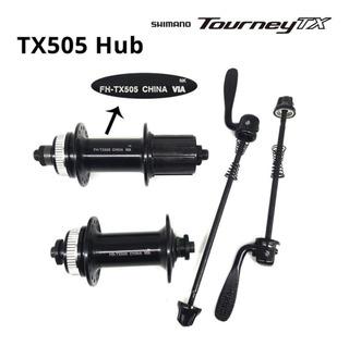 Par De Cubos Shimano Tourney Tx505 Hub