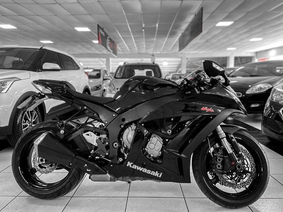Kawasaki Zx 10r Ano 2011 Financiamos Em 36x Moto Nova
