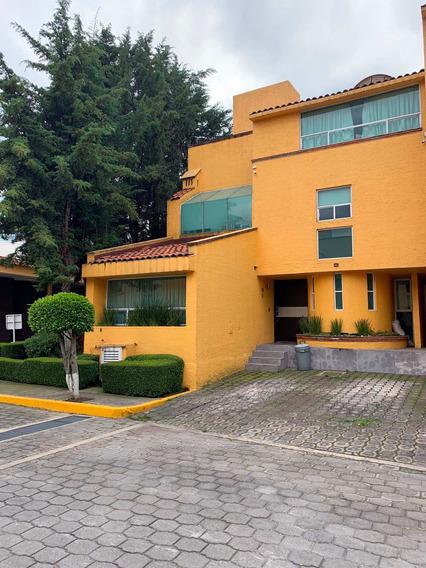 Casa Con Excelentes Acabados En Conjunto A 2 Min De Sta Fe
