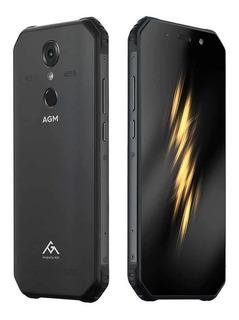 Smartphone Agm A9 4gb/64gb Bateria 5400mah Ip68 Jbl