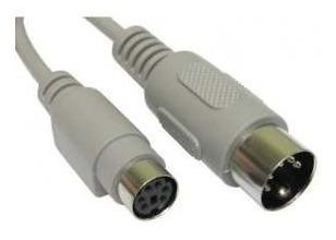Cable Teclado At Macho A Ps/2 Hembra