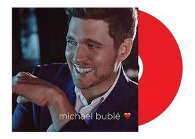Lp Michael Buble When I Fall In Love Vinil Vermelho Lacrado