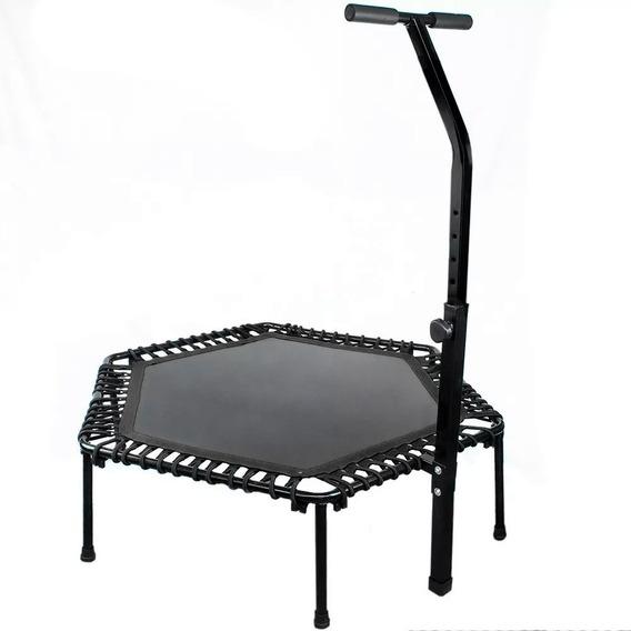 Trampolin Fitness Ejercicio Hexagonal 50 Plgs Centurfit Mini