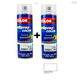 Tinta Spray Automotiva Na Cor Do Seu Carro + Verniz