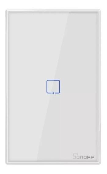 Sonoff T2 Us 1 Canal Tecla Touch Wifi/rf Con Garantia