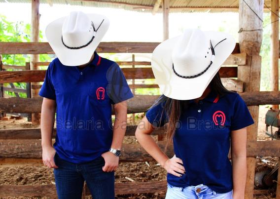 Camisa Mangalarga 2 Unidades Masculina E Feminina Oferta