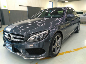 Mercedes Benz C250 Cgi Sport 2016 Gris