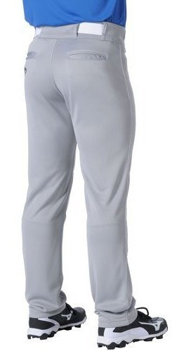 Rawlings Premium Culotte pirata adulto para hombre de béisbol pantalón blanco y gris