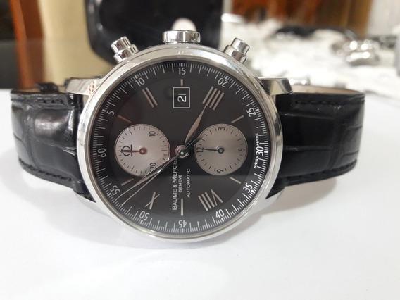 Relógio Suiço Balme & Mercier Automático Semi-novo Impecavel