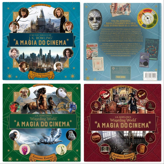 Coleção Harry Potter - A Magia Do Cinema (3 Volumes)