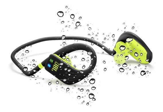 Fone Ouvido Com Mp3 1gb Bluetooth Jbl Endurance Dive Preto