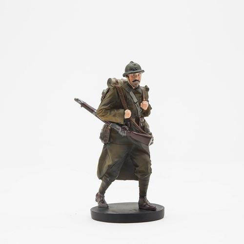 Soldado Francés 168° Regimiento De Infantería Francia 1940