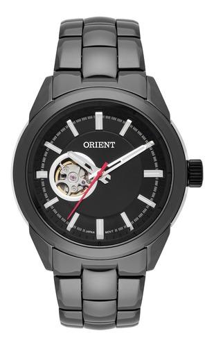 Relógio Orient Masculino Automático Nh3kk001 Esqueleto Ceram