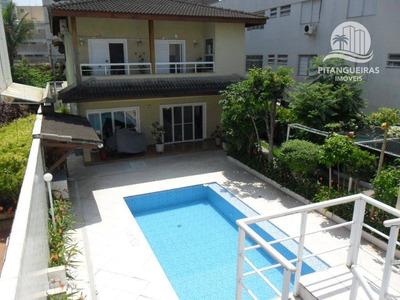 Casa Com 4 Dormitórios À Venda, 495 M² Por R$ 1.500.000 - Enseada - Guarujá/sp. - Ca0115