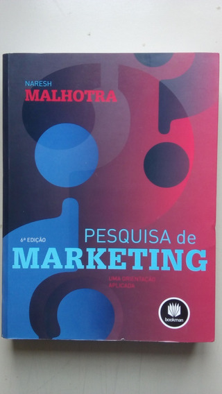 Livro Pesquisa De Marketing 6ª Edição