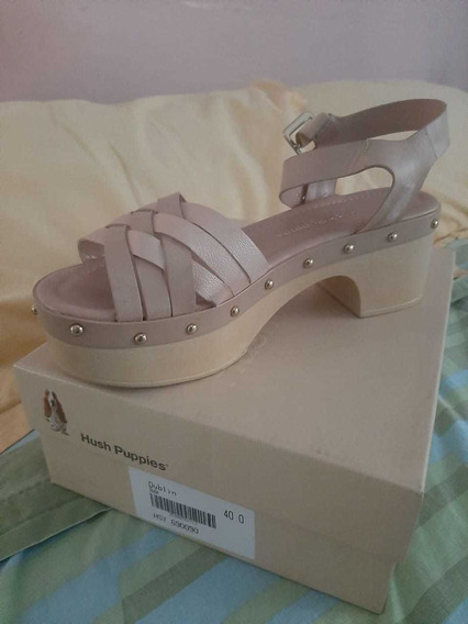 Hush Puppies Dublin Talle 40 Color Nude