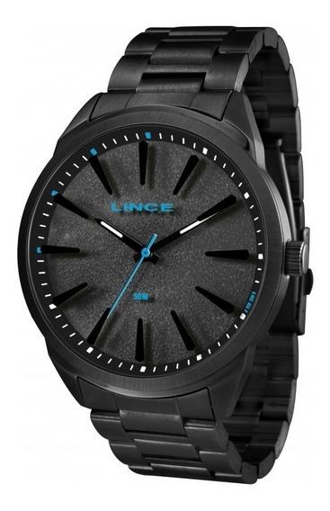 Relógio Lince Masculino Analógico Couro Mrn4385spapx