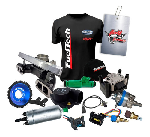 Kit Para Injeções Programáveis Opala 4c S/ Fueltech +12x S/j