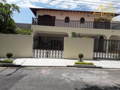 Casa Estilo Colonial Na Vila São Francisco - Ca0353