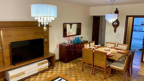 Imagem 1 de 24 de Apartamento Jundiai Rua Senador Fonseca (centro) 130m2 4 Dorms 1 Vaga - Estuda Permuta Casa - Ap00497 - 69876737