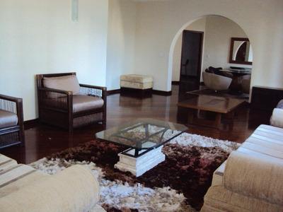 Apartamento Com 5 Dormitórios Mobiliado Para Alugar, 200 M² Por R$ 6.000/mês - Aparecida - Santos/sp - Ap4253