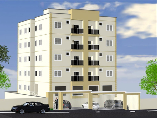 Apartamento Novo Para Venda Em Bonfim Paulista No Centro, Alto Padrao, 2 Dormitorios Sendo 1 Suite, Varanda Gourmet, Elevador Em 68 M2 Privativos - Ap01400 - 33975224