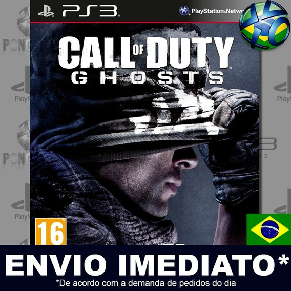 Call Of Duty Ghosts Gold Edition Ps3 Psn Dublado Português