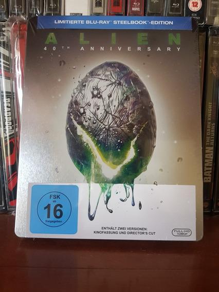 Steelbook Alien Bluray 40 Th Anniversary Ridley Scott