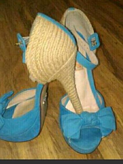 Sandalia Schutz Azul