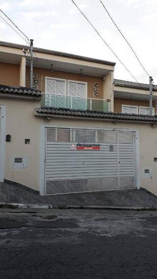 Sobrado Com 3 Dormitórios À Venda, 90 M² Por R$ 450.000,00 - Vila Campo Grande - São Paulo/sp - So3108