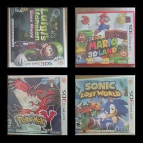 Pacote Jogos Nintendo 3ds Xl