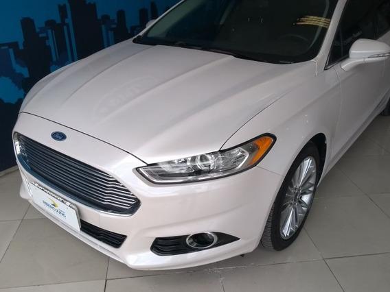 Ford Fusion Titanium 2.0 Gtdi Fwd 2014 Branca Gasolina