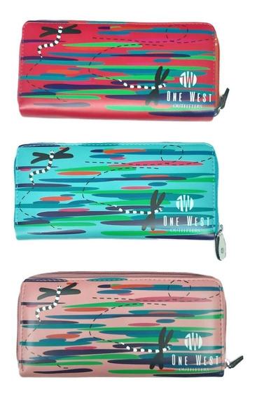 Billetera De Mujer Diferentes Diseños /678-5 X12 Unidades