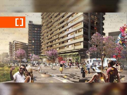 Venta De Apartamento Obra Construcción 1 Dormitorio En Malvín, Distrito M T2 Unidad 708