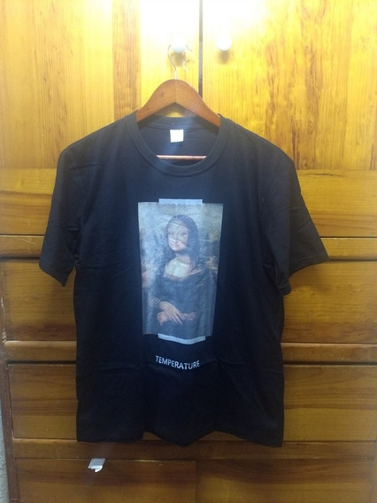 Playera Off-white Monalisa Temperature