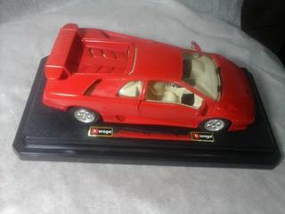 Miniatura Lamborghini Diablo 1990 Burago Italia