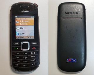 Celular Nokia 1661 Com Rádio Desbloqueado Simples Seminovo