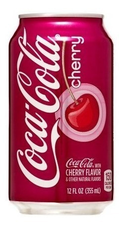 Imagen 1 de 1 de Envio Gratis! 12 Pack Coca Cola Cherry 355 Ml