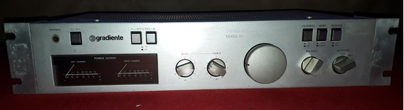 Gradiente Model 86 Stereo Amplificador Integrado