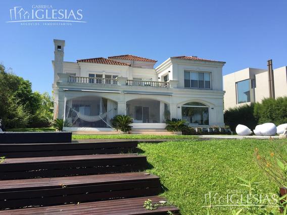 Casa En Alquiler 4 Dormitorios Al Lago Central En Los Castores