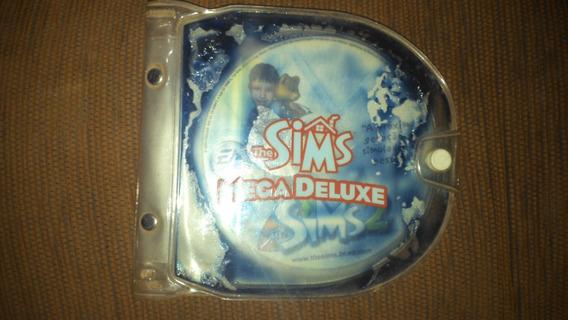 Game The Sims Mega Deluxe (gozando A Vida...fazendo A Festa....disco Bônus)