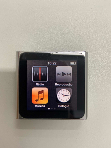 iPod Nano Prata Apple