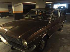 Ford Corcel 1 Marrom Metálico Monocromático 1977