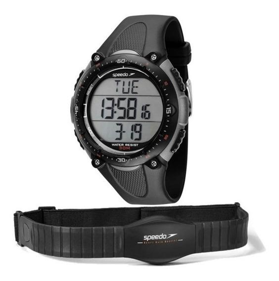 Relógio De Pulso Monitor Cardíaco Speedo Xtreme Digital 80565g0epnp2