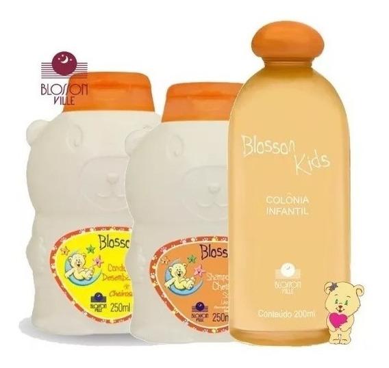 1 Sacola C/ Colonia + Shampoo, Condicionador - Blosson Ville