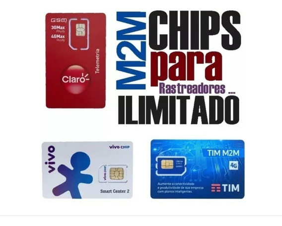 Chip M2m Tim P/rastreador Gt06+plataforma+app
