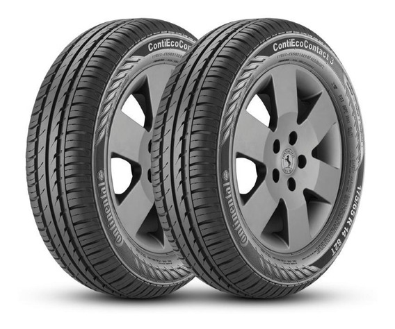 Kit 2 Pneus 175/65r14 Continental Contiecocontact 3 82t